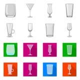 Ilustração do vetor do símbolo do formulário e da celebração Ajuste do ícone do vetor do formulário e do volume para o estoque ilustração stock
