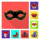 Ilustração do vetor do símbolo do luxo e da celebração Coleção do luxo e para esconder o símbolo de ações para a Web ilustração royalty free