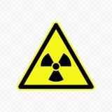 Ilustração do vetor do sinal de aviso Fotos de Stock