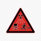 Ilustração do vetor do sinal de aviso Imagem de Stock Royalty Free