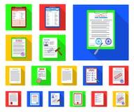 Ilustração do vetor do sinal do formulário e do original Coleção do ícone do vetor do formulário e da marca para o estoque ilustração stock
