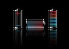 ilustração do vetor uma bateria Foto de Stock Royalty Free