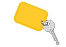Ilustração do vetor uma chave do metal ilustração stock