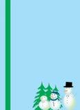 Ilustração dos artigos de papelaria do Natal Fotos de Stock Royalty Free