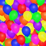 Ilustração dos balões Imagem de Stock Royalty Free