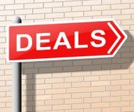 Ilustração dos bens 3d do preço dos meios dos negócios a melhor ilustração royalty free