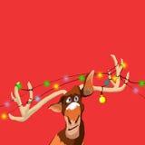 Ilustração dos cervos fotografia de stock