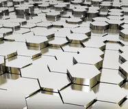 Ilustração dos cubos como um backround Imagens de Stock Royalty Free