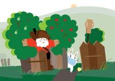 Ilustração dos desenhos animados da emboscada Fotos de Stock Royalty Free