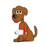 Ilustração dos desenhos animados do cão Foto de Stock Royalty Free