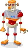Ilustração dos desenhos animados do robô da fantasia Fotografia de Stock