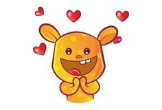Ilustração dos desenhos animados do vetor de Teddy Bear bonito ilustração stock