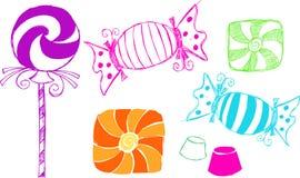 Ilustração dos doces Foto de Stock Royalty Free
