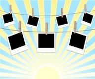 Ilustração dos frames da foto Imagem de Stock Royalty Free