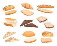 Ilustração dos sanduíches do vetor ilustração stock