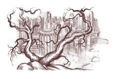 Ilustração ecológica Fotos de Stock Royalty Free
