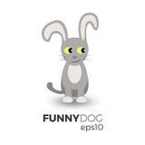 Ilustração engraçada do cão Fotografia de Stock Royalty Free