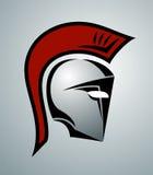 Ilustração espartano do capacete Imagens de Stock