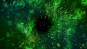 Ilustração espiral abstrata do buraco negro Foto de Stock Royalty Free