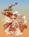 Ilustração estilizado do grunge Fotografia de Stock Royalty Free
