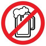 """Ilustração estoque do forbidden†do álcool do """" Imagens de Stock Royalty Free"""