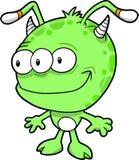 Ilustração estrangeira do vetor do monstro Imagens de Stock Royalty Free