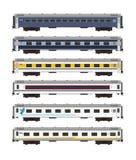 Ilustração executiva do automóvel de passageiros da classe Foto de Stock Royalty Free