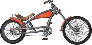 Ilustração feita sob encomenda da bicicleta Fotos de Stock Royalty Free