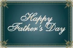 Ilustração feliz do dia de pai Fotos de Stock
