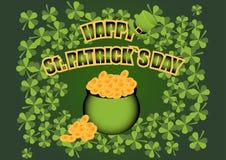 Ilustração feliz do vetor do dia do ` s de St Patrick E ilustração royalty free