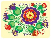 Ilustração floral Fotografia de Stock