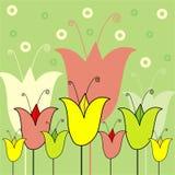 Ilustração floral Fotos de Stock Royalty Free