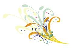 Ilustração floral   Fotos de Stock