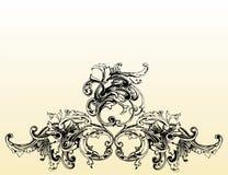 Ilustração floral Foto de Stock Royalty Free