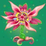 Abstrato-floral-ilustração Imagem de Stock Royalty Free
