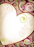 Ilustração floral do calor Foto de Stock Royalty Free
