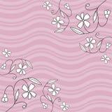 Ilustração floral do projeto Fotografia de Stock Royalty Free