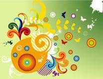 Ilustração floral do vetor ilustração do vetor