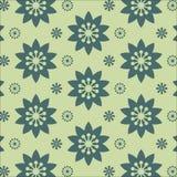 Ilustração floral do vetor do fundo do teste padrão do vintage da mola Fotografia de Stock