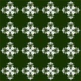 Ilustração floral eps10 do vetor do ornamento do teste padrão Imagens de Stock Royalty Free