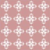 Ilustração floral eps10 do vetor do ornamento do teste padrão Imagens de Stock