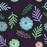 Ilustração floral sem emenda do vetor do teste padrão ilustração royalty free