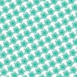 ilustração floral verde do teste padrão imagem de stock royalty free