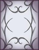 ilustração geométrica do sumário do drawnd da mão Fotos de Stock