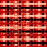 Ilustração geométrica vermelha e branca preta do vetor do fundo dos polígono Imagem de Stock Royalty Free