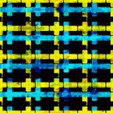 Ilustração geométrica vermelha e branca preta do vetor do fundo dos polígono Imagens de Stock Royalty Free