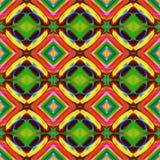 Ilustração gerada por computador com patt calidoscópico abstrato Fotos de Stock Royalty Free
