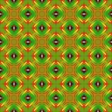 Ilustração gerada por computador com patt calidoscópico abstrato Fotografia de Stock Royalty Free