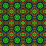 Ilustração gerada por computador com patt calidoscópico abstrato Imagens de Stock