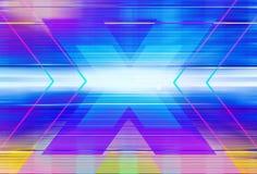 Ilustração gráfica abstrata de x Imagens de Stock